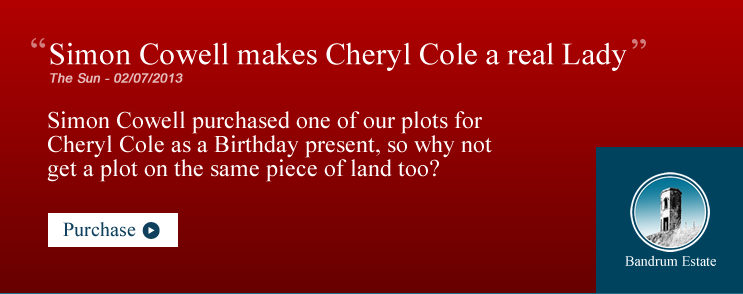 Purchase a Scottish Land Plot like Cheryl Cole